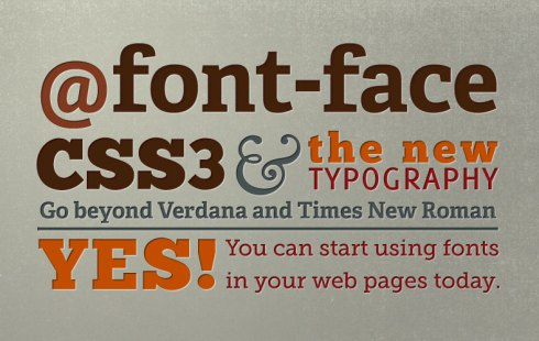 Font Villa - @font face - web fonts - font faces - creative fonts